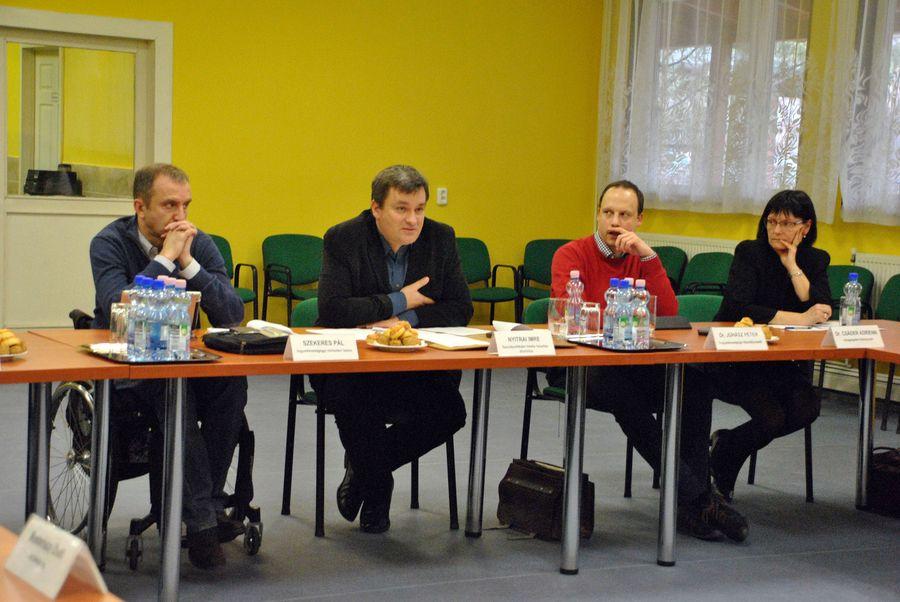 A minisztérium küldöttsége