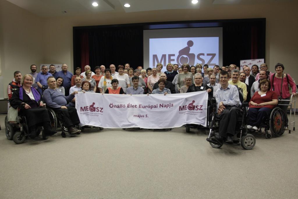 A MEOSZ Hajdúszoboszlón tartott küldöttközgyűlése megszavazta, hogy csatlakozzunk az Önálló Élet Európai Hálózatához (ENIL). Szövetségünk ezzel a csoportképpel ünnepli az önálló élet mozgalmat!